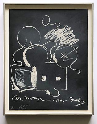 Claes Oldenburg 1973 Hand Signed Numbered Lithograph Ltd. Ed. Framed JKLFA.com