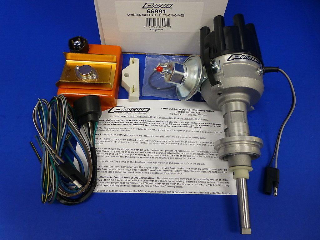 Proform Electronic Ignition Distributor Kit Mopar Dodge