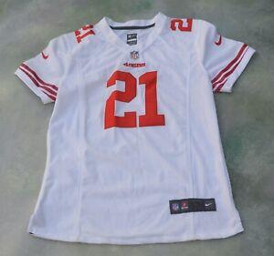 Details about Nike On Field NFL San Francisco 49ers Frank Gore #21 Women's Jersey Size L.