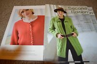 Classic Elite Yarns Knitting Pattern Book Second Edition