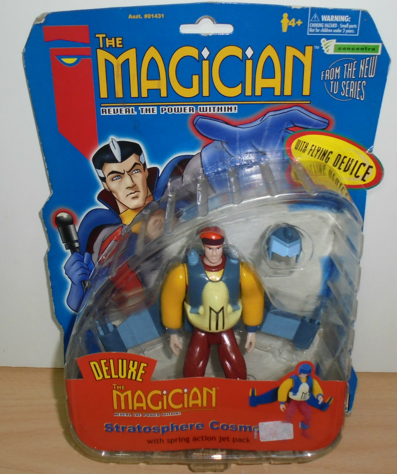 THE MAGICIAN STRATOSPHERE COSMO Action Action Action Figure 1998 GP Gaumont CONCENTRA NEW 9b3611