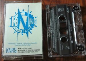RARE KNRG Capitol Records New Release Sales Tape Promo Cassette Thelon. Monster