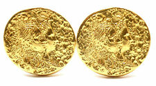 Rare! Authentic Salvador Dali D'or  for Piaget 18k & 22k Yellow Gold Cufflinks