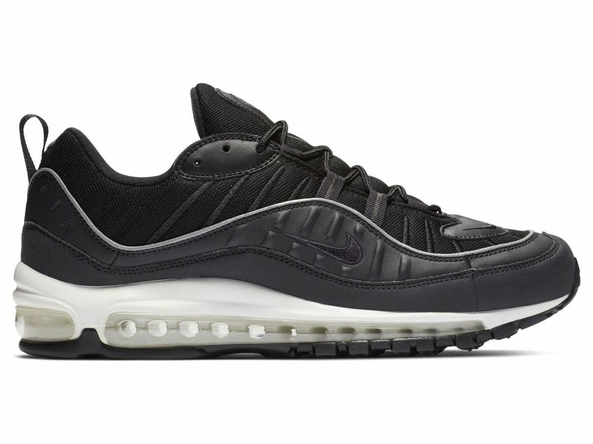 Nike Air Max 98 Herren Turnschuhe Turnschuhe Sportschuhe  640744-009