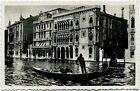 Primi anni 1900 Venezia - Palazzo Contarini Ca d'Oro, gondola - FP B/N
