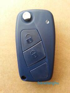 New-Fiat-Iveco-Citroen-Relay-Van-2-Button-Flip-Remote-Key-Fob-Case-Blade