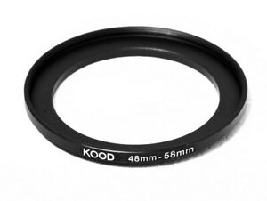 Stepping Ring 48-58mm 48mm to 58mm Step Down Ring Stepping Rings 48mm-58mm