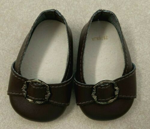 American Girl Doll Felicity/'s Meet outfit SHOES only Colonial style w//Buckle NEW