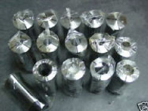 "NEW 11pcs 5C  Round Collet Set 1//8/"" to 3//4/"" by 1//16th Set"