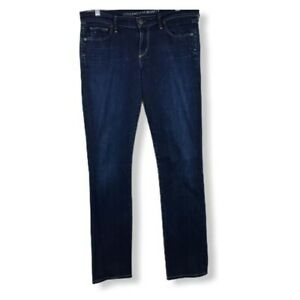 Citizens-of-Humanity-Women-Size-31-Jeans-Ava-Low-Rise-Straight-Leg-Stretch-G6