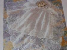 Baby's Christening Robe and Shawl size 18 knitting pattern