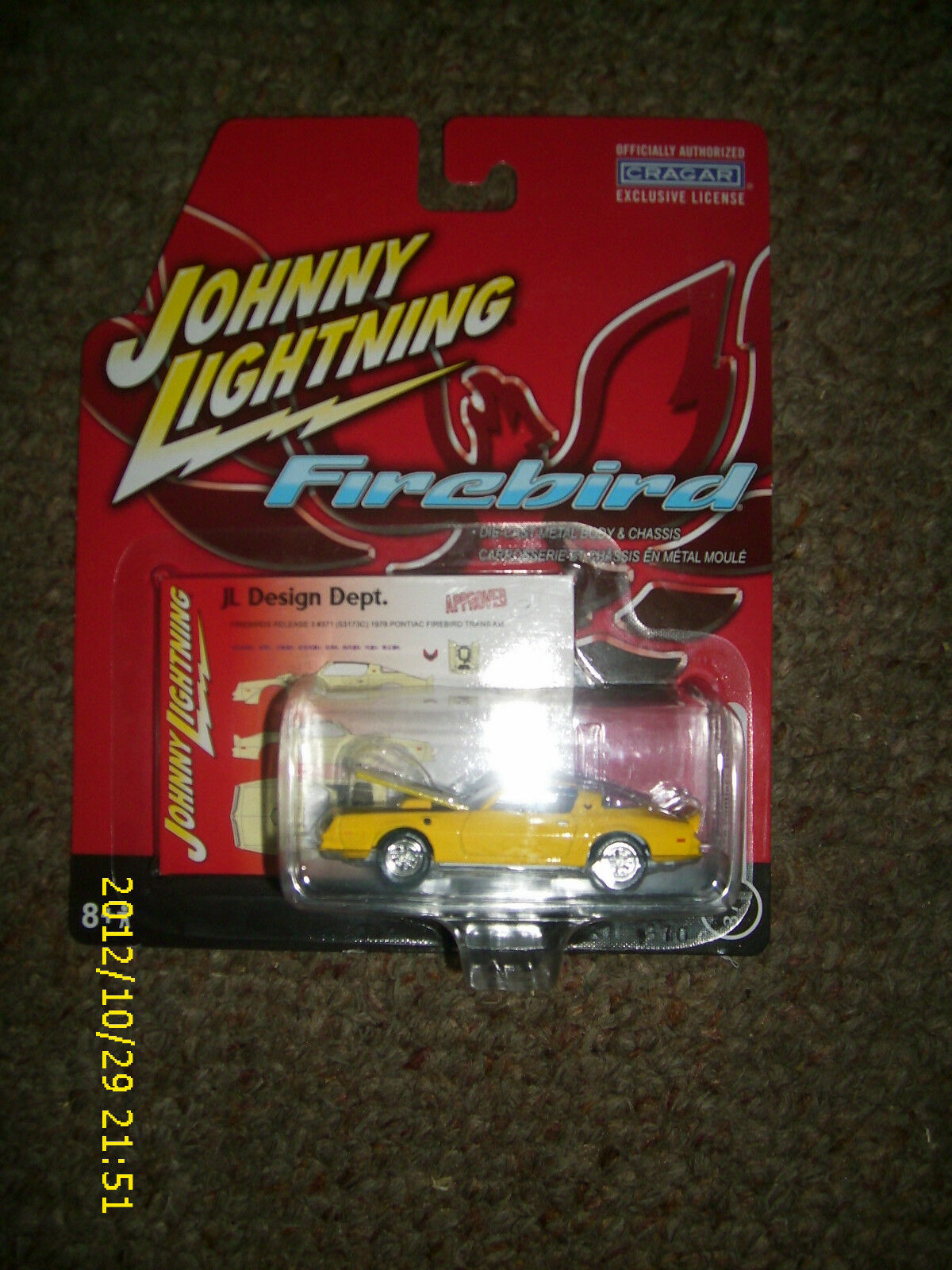 JOHNNY WHITE LIGHTNING 1978 PONTIAC  FIREBIRD  371