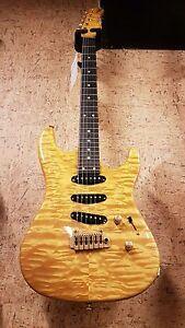 valley arts custom pro style 25 electric guitar electric guitar ebay. Black Bedroom Furniture Sets. Home Design Ideas