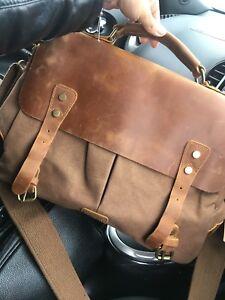 3cf93f442d Lifewit 14-15.6 Inch Leather Satchel Messenger Laptop Shoulder Bag ...