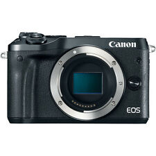 Canon EOS M6 24.2MP Digital Camera - Black (Body Only) (Latest Model)