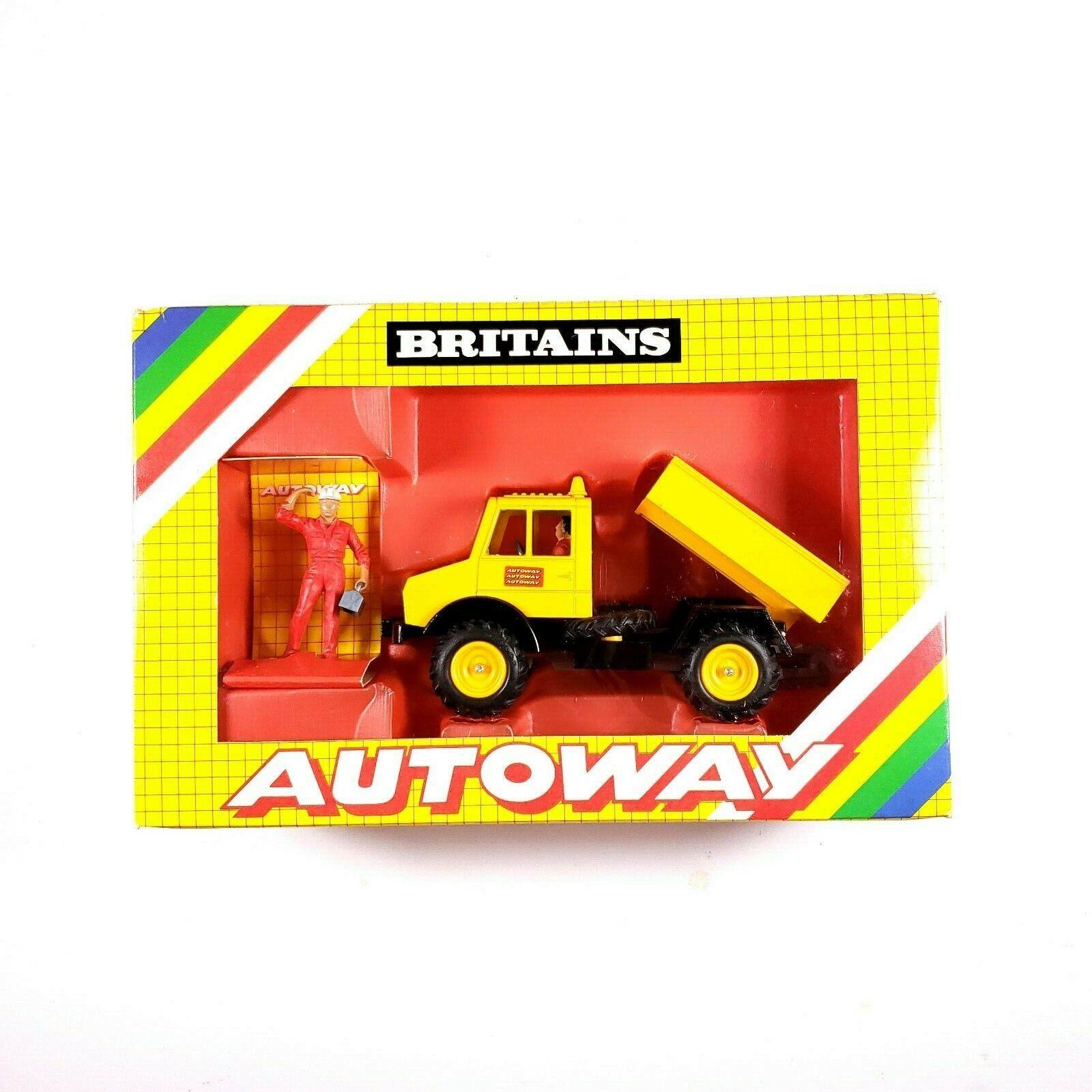 BRITAINS  l'autorute 9813 Unimog 1 32 SCALE MODEL 1980s-nouveau. M25  jusqu'à 60% de réduction