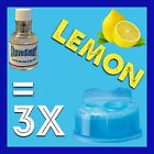3 Lemon Braun Clean & Renew Cartridge Refills, Syncro, Activator, And Flex