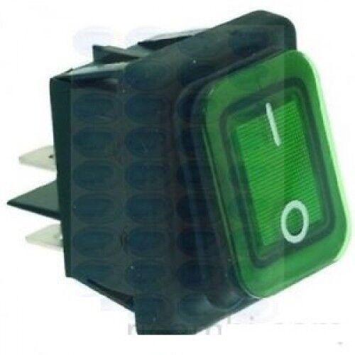 Interruptor Bipolar fimar Verde 16A 250V, SL3322, 3319362