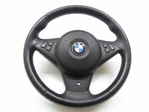 BMW-5er-E61-E60-Bj03-10-M-Paket-Leder-Lenkrad-MLF-Multifunktion-komplett