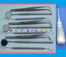 45 Instruments Basic Dental Set Mirror Explorer plier Instruments ECONOMY GRADE