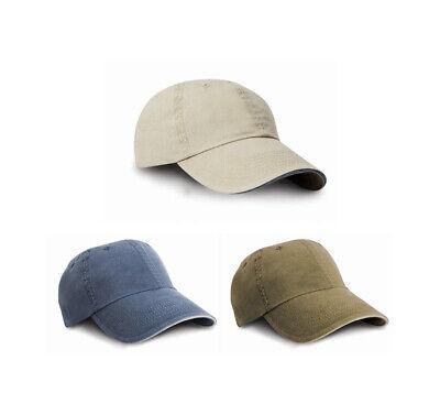 Gewaschene Baseball Cap Basecap Kappe