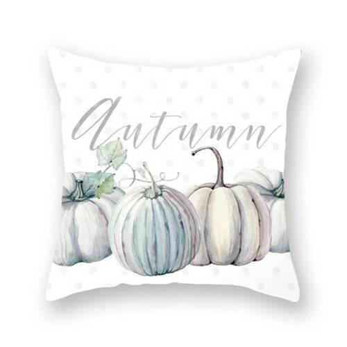 Pillowcase Pumpkin Sofa Cushion Cover Pillow Case Halloween Thanksgiving Decor S