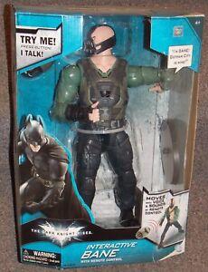 Le chevalier noir se lève sur Batman Interactive Bane - Figurine innovante dans la boîte