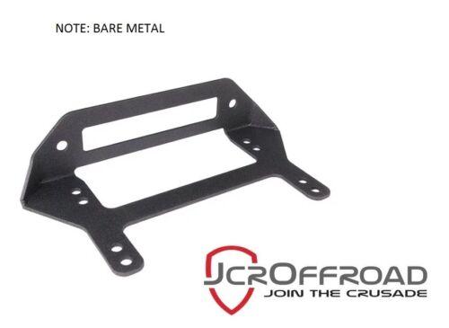 Universal Jeep JCR Offroad Winch Fairlead Mounting Bracket Bare Metal