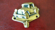 Vintage Brass  Car  Key Holder.