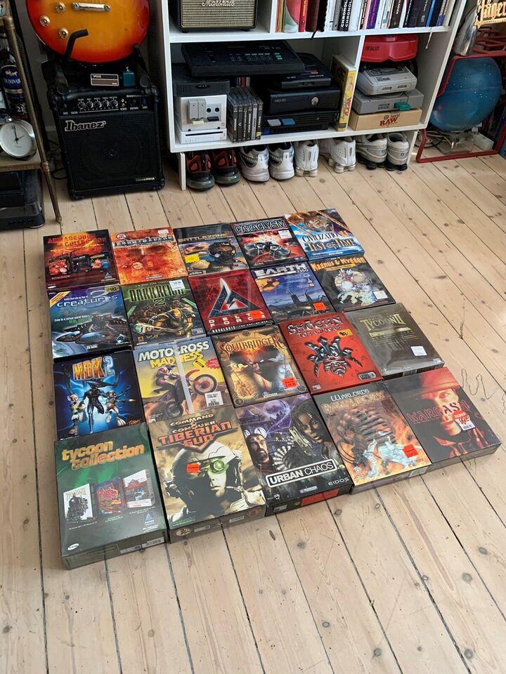 Div sealed big box titler, til pc, action