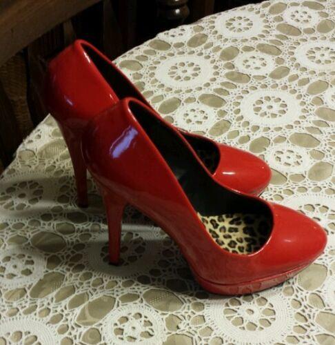 Couture Nieuw maat inch rode 5 Schattig 9 Pinup Dames hakken hakken SOr5Ow