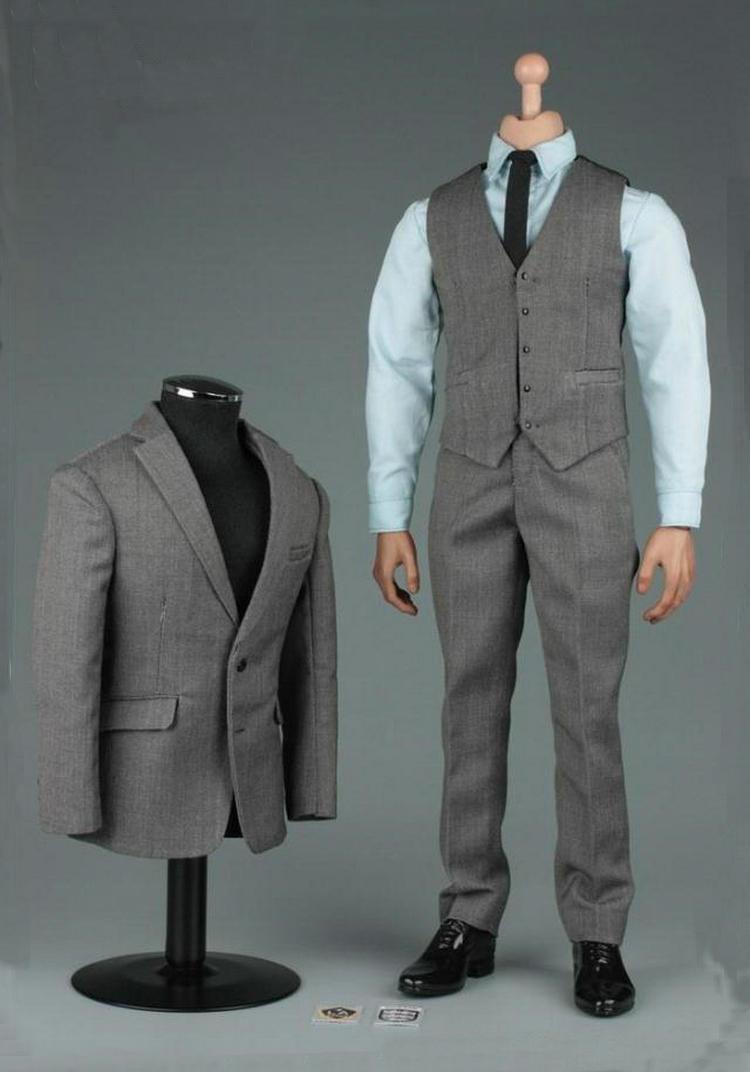 Vortoys v1005b 1   6 - skala gentleman suit2.0 kleidung kleidung für 12  männliche figur