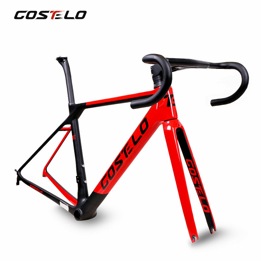 Costelo RIO3.0 Carbon road bike frame bicycle frameset handlebar rimdisc brake