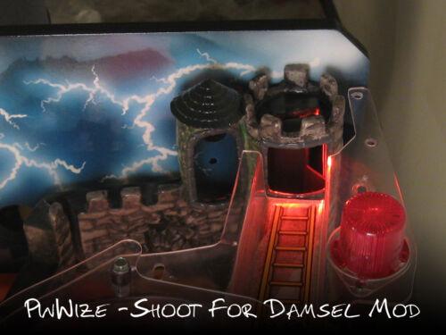 FINAL STOCK Medieval Madness Pinball  /'Shoot for Damsel/' LED ModRegular MM
