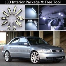 11PCS Canbus LED Interior Lights Package kit Fit 1996-1998 Audi A4 B5 SEDAN J1