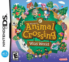 ANIMAL CROSSING WILD WORLD - DS GAME (NEW NEVER USED)  AUSTRALIAN SELLER