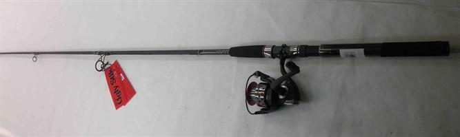 Shakespeare USSP661MH40CBO GX2 Spinning Rod Reel Combo 6 ft 6  22198
