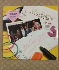 New Edition - All for Love LP 33 RPM Used (C6/S1)