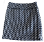 miniature 3 - Ann Taylor LOFT Black White Houndstooth Woven Mini Skirt Size 0 Fully Lined