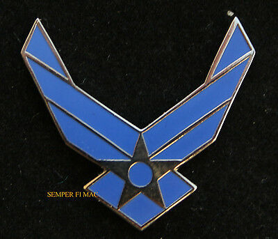 US AIR FORCE NEW WING SEAL LOGO COLLECTOR PIN USAF AFB GRADUATION GIFT BOOT CAMP