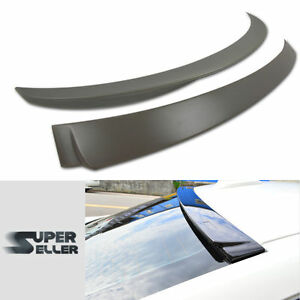 Performance Trunk Spoiler  For BMW F30 320i 328i 335i 4D Upainted A Roof Lip