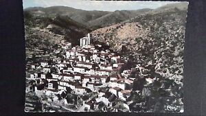 CPSM-Valley-from-Conflent-view-air-of-the-picturesque-village-Eastern-pyrenees