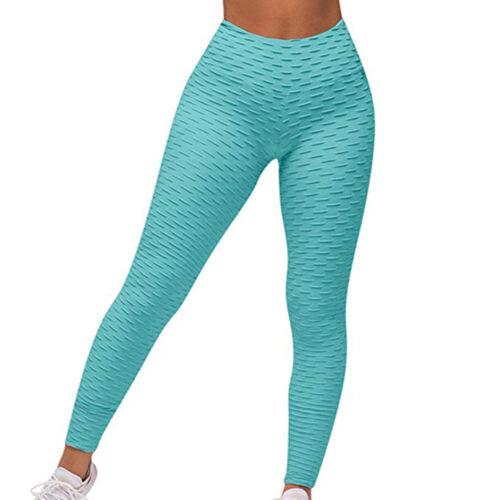 Women Butt Lift Push Up Yoga Pants Fitness Gym Leggings Sports Scrunch Trousers