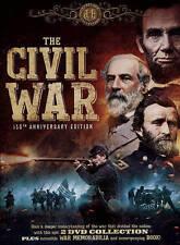 The Civil War: 150th Anniversary Edition (DVD, 2015, 2-Disc Set, Includes Book a