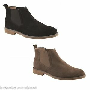 MENS-HUSH-PUPPIES-TURNER-BLACK-NUTMEG-SUEDE-EXTRA-WIDE-WORK-FORMAL-SHOES-BOOTS