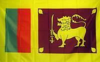 Sri Lanka Flag Banner 3' X 5' Polyester