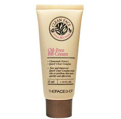 [The FACE Shop] Clean Face Oil Free BB Cream 35ml Sebum Trouble Acne Control
