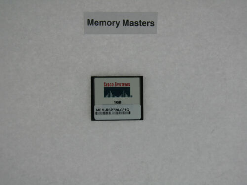 MEM-RSP720-CF1G 1GB Approved Compact Flash Memory for Cisco 7600 RSP720