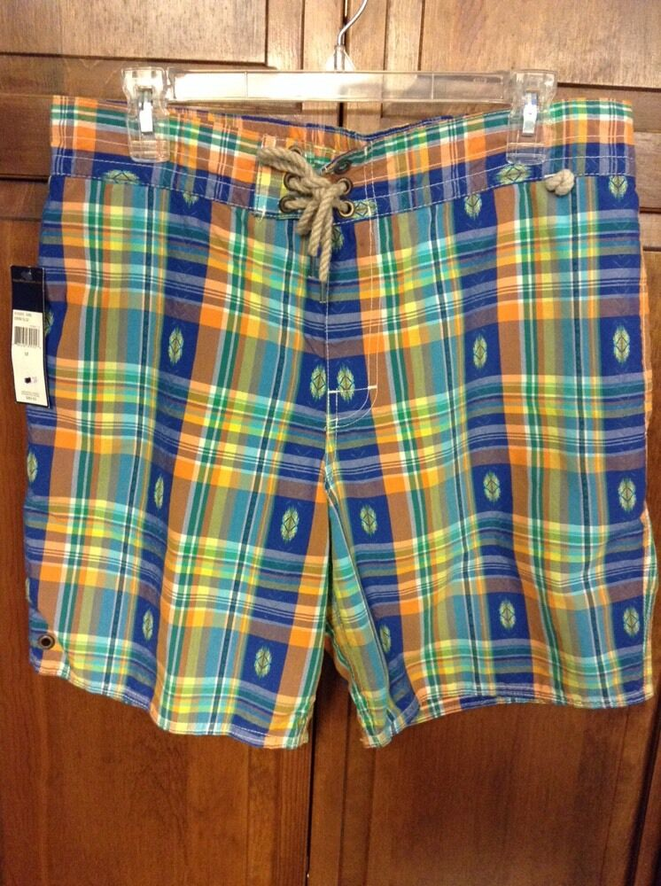 Polo Ralph Lauren Board Swim Shorts Southwest Indian Trunks Men M  NWT New