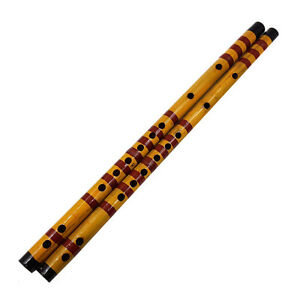 Traditional-Long-Bamboo-Flute-Clarinet-Student-Musical-Instrument-7-Hole-42-5cm